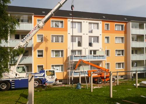 Aufstellung Balkone Fa Fischer mittel