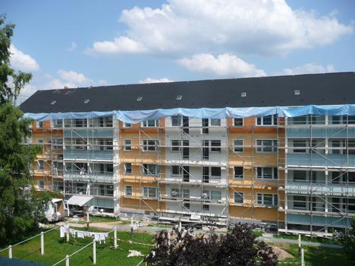 Fassadensanierung Werner mittel